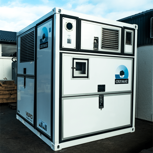 Gas generators that produce high-quality oxygen or nitrogen on-site.